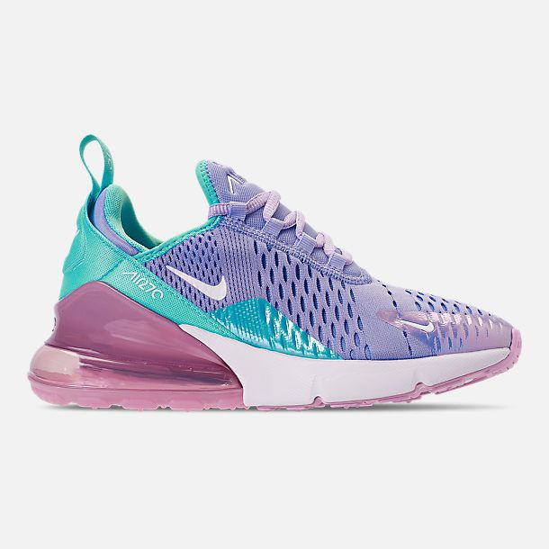 8f62e907ee49 SIZE 6.5 Girls  Big Kids  Nike Air Max 270 Casual Shoes in Unicorn Gel