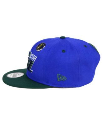 reputable site f7618 5cc7c ... hot new era utah jazz pintastic 9fifty snapback cap sports fan shop by  lids men macys