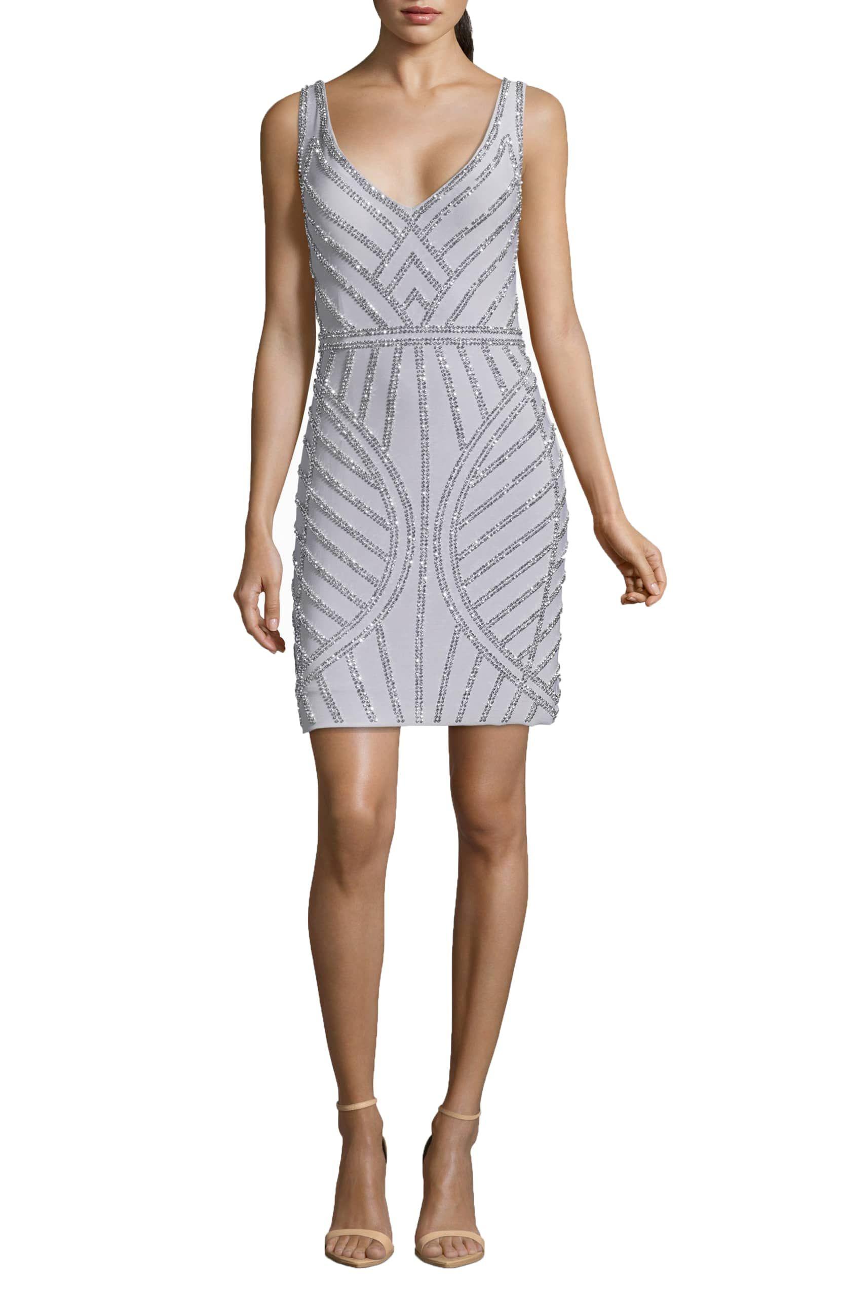 4f63bfe5745 Art Deco Beaded Cocktail Dress