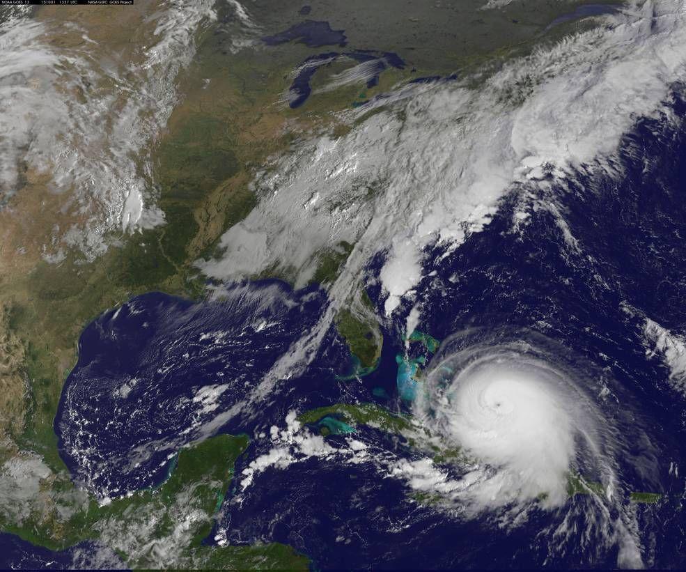 Satellite Data Shows Joaquin Becoming A Post Tropical Cyclone Hurricane Pictures Atlantic Hurricane Florida Travel
