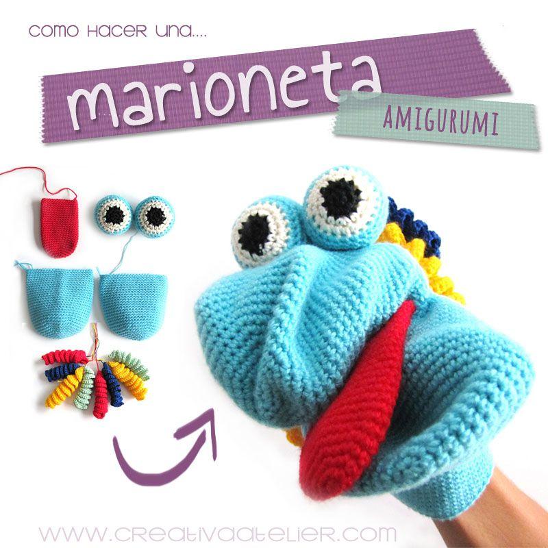 Marioneta amigurumi - Crochet DIY | Kuscheltiere, Amigurumi und ...