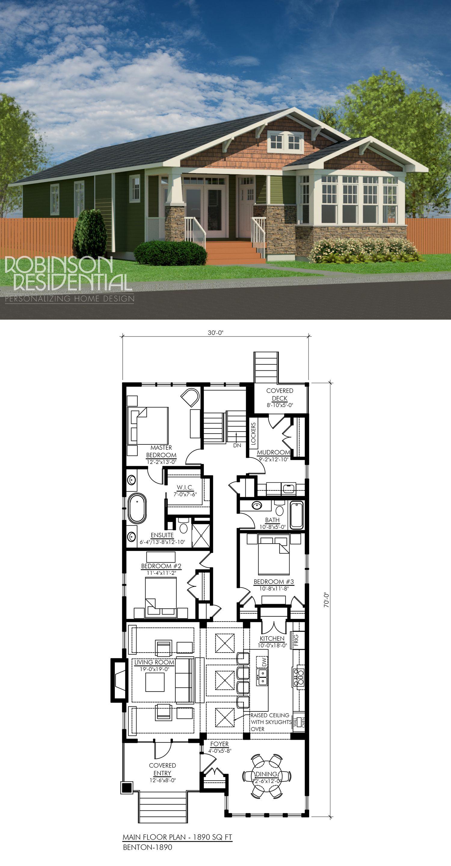 Craftsman benton 1890 bath bedrooms and mudroom for 1890 house plans