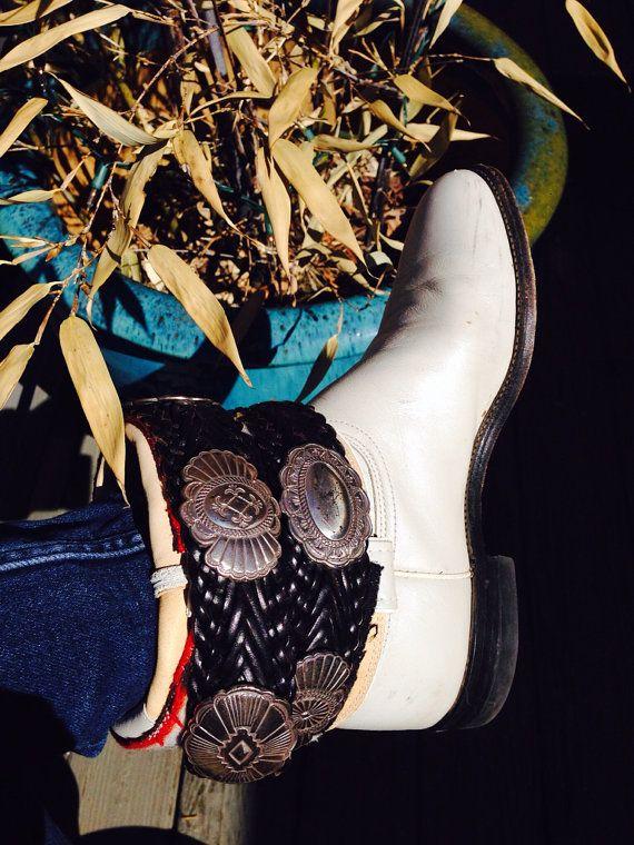 Boot Boho Upcycled Size 8 Roper By Shilohgrl On Etsy 19900