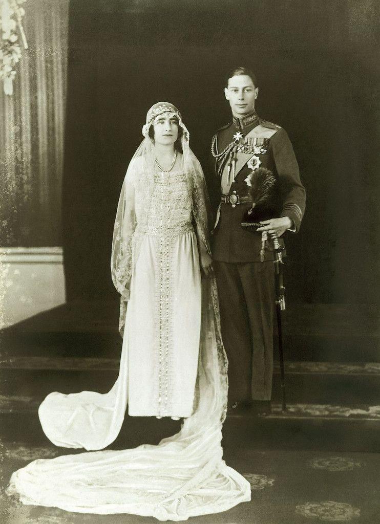 Queen Elizabeth Bowes Lyon Royal Wedding Dress Royal Weddings Duchess Of York