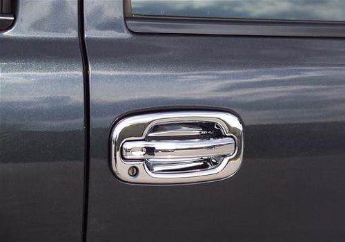Putco Gmc Sierra Chrome Door Handle Covers Autotrucktoys Com Chrome Door Handles Door Handles Chrome