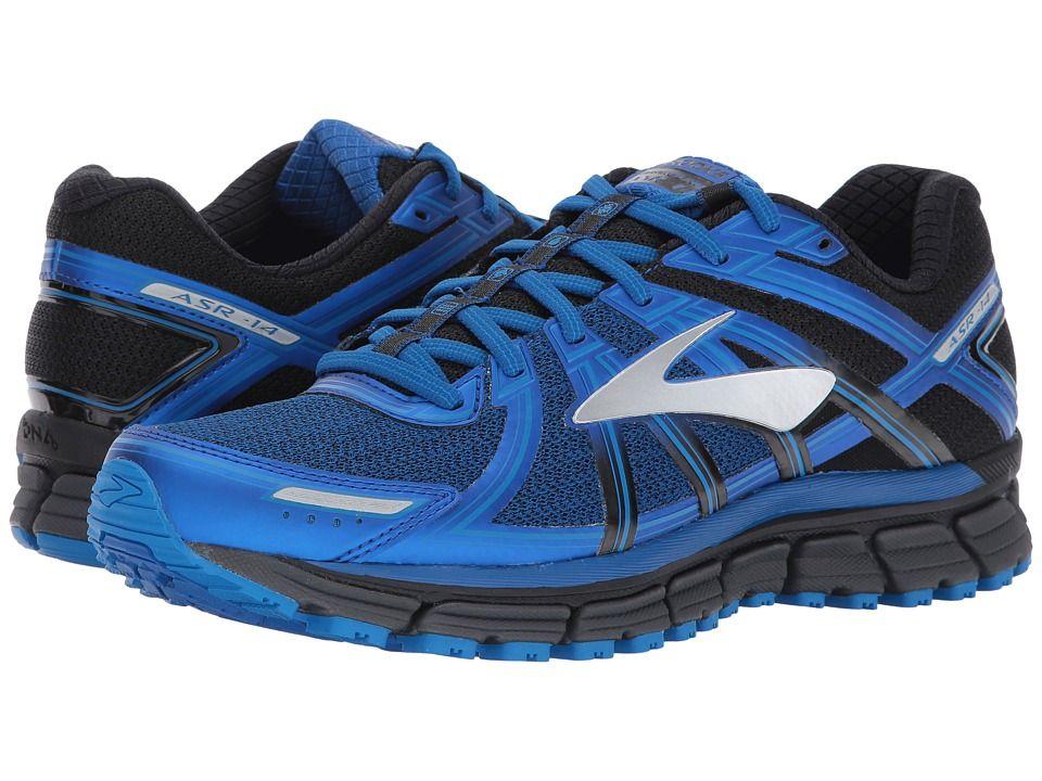c0269335f0a98 Brooks Adrenaline ASR 14 Men s Running Shoes Black Ebony Lapis Blue ...