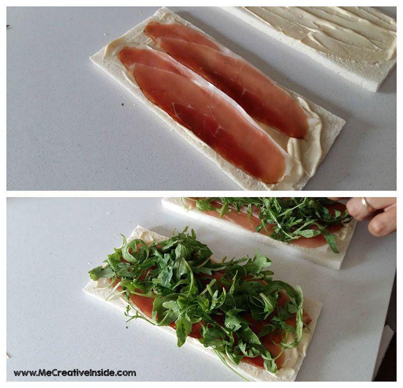 Me CreativeInside estate ricette rondelle pancarrè salame speck