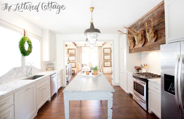 Ashley Gilbreath Montgomery Alabama Old House Kitchen Marble