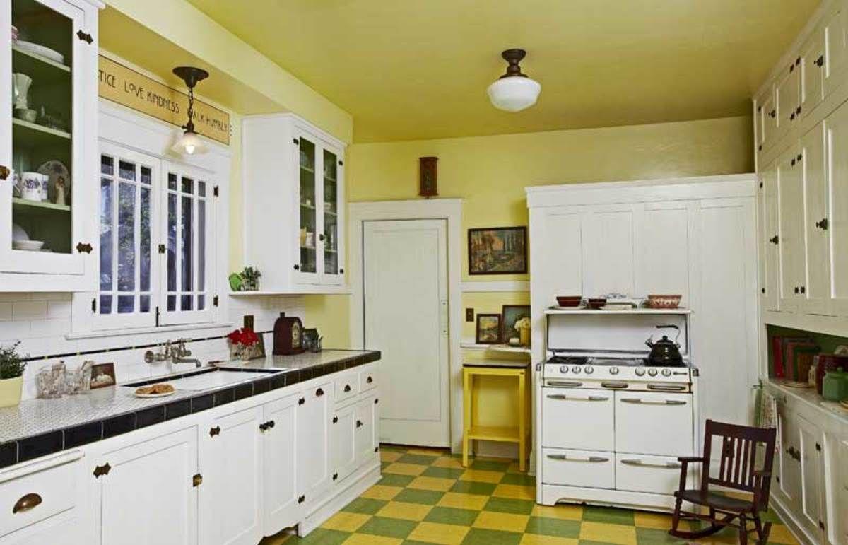 1909 California Bungalow Bungalow Kitchen Craftsman Kitchen Farmhouse Style Kitchen