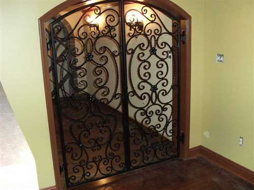 Ornate Doors | Wrought Iron Door Styles: Wrought Iron Door Styles