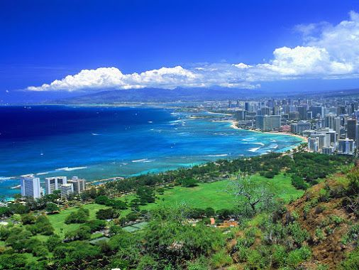 The beautiful nature of Hawaii.