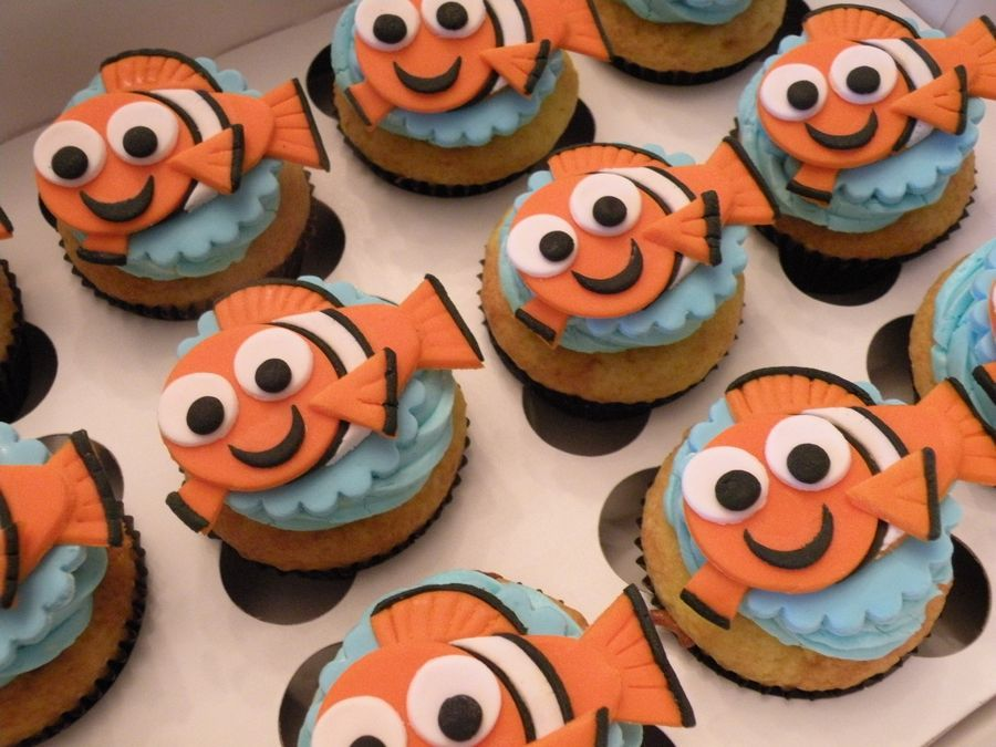 finding nemo cupcakes - Google Search