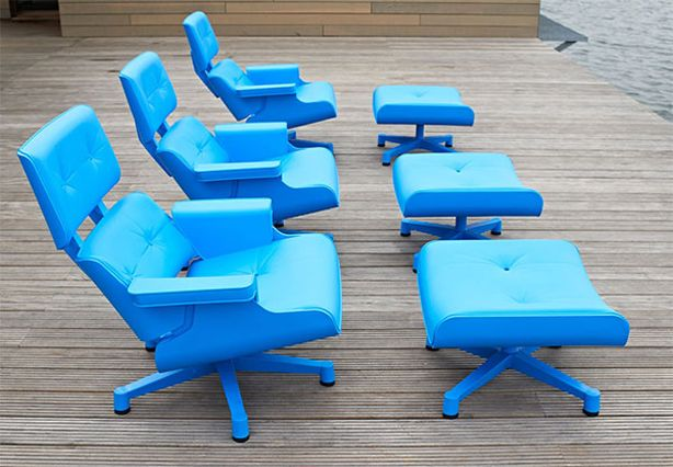 Chair share mal 1956 outdoor chair rotational molded for Pvc pipe lounge chair