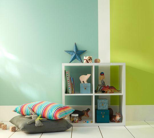 Castorama les nouveaut s peinture en 20 photos boys bedroom kitchen tops baby bedroom et - Chambre d enfant mixte ...
