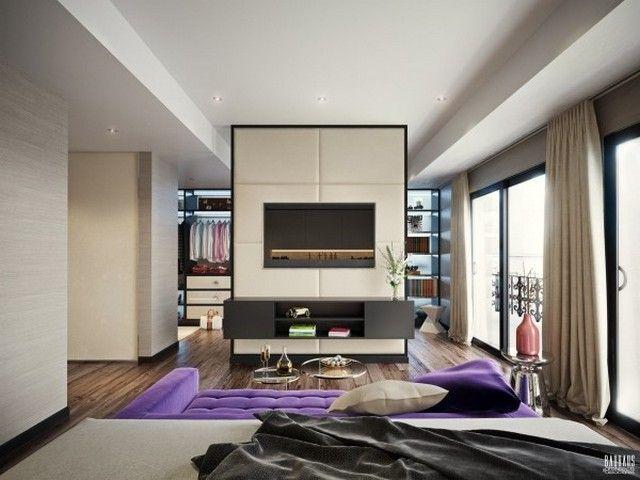 Schlafzimmer 5 Modelle, um ein gemütliches Design zu