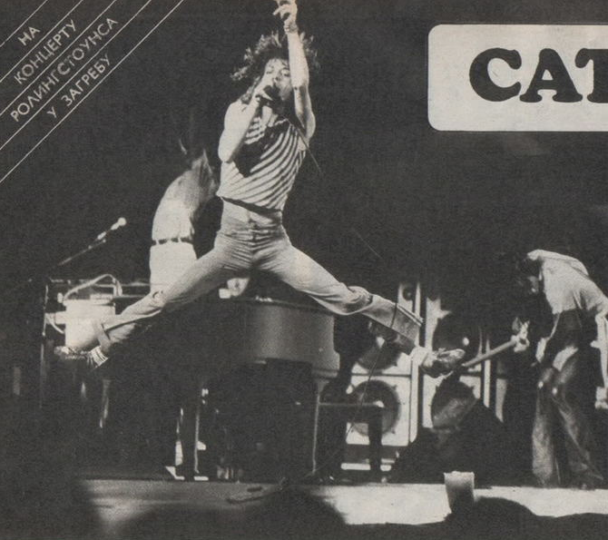 The Rolling Stones Zagreb June 1976 Rolling Stones Rhythm And Blues Rock And Roll