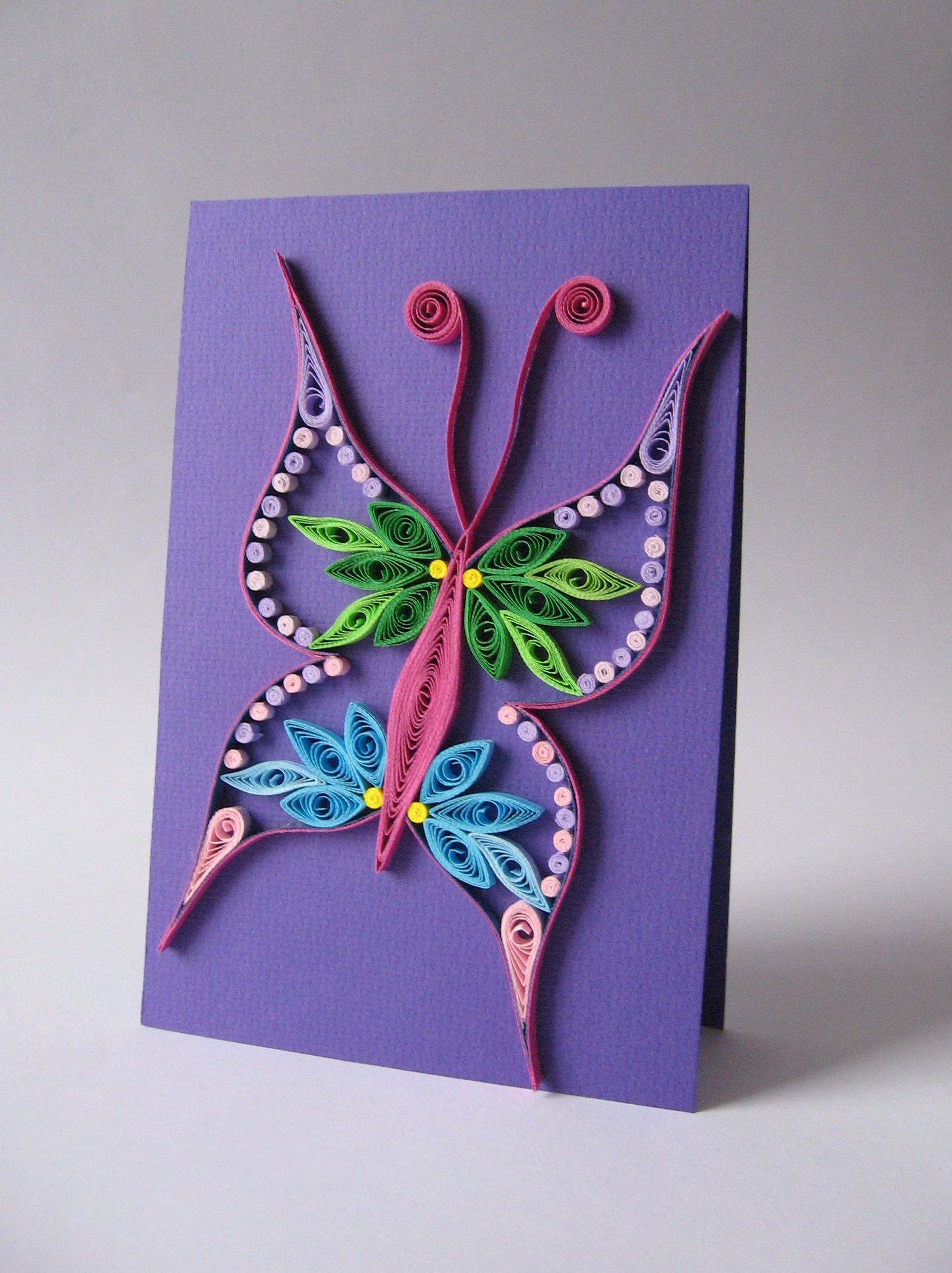 Quilled butterfly quilling animaux pinterest quilling
