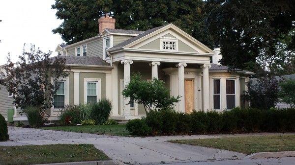 Home Tour In Racine Wisconsin Gothic Italian Greek