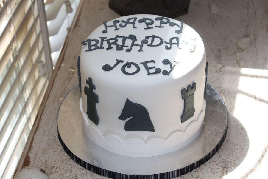 Chess Birthday Cake Cakes Pinterest Cake Birthday Cake And