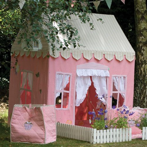 Pint Sized Fun Luxury Playhouses Gingerbread Cottage Play Tent at PoshTots & Gingerbread Cottage Play Tent and for Girls Boys in Gifts : Gifts ...