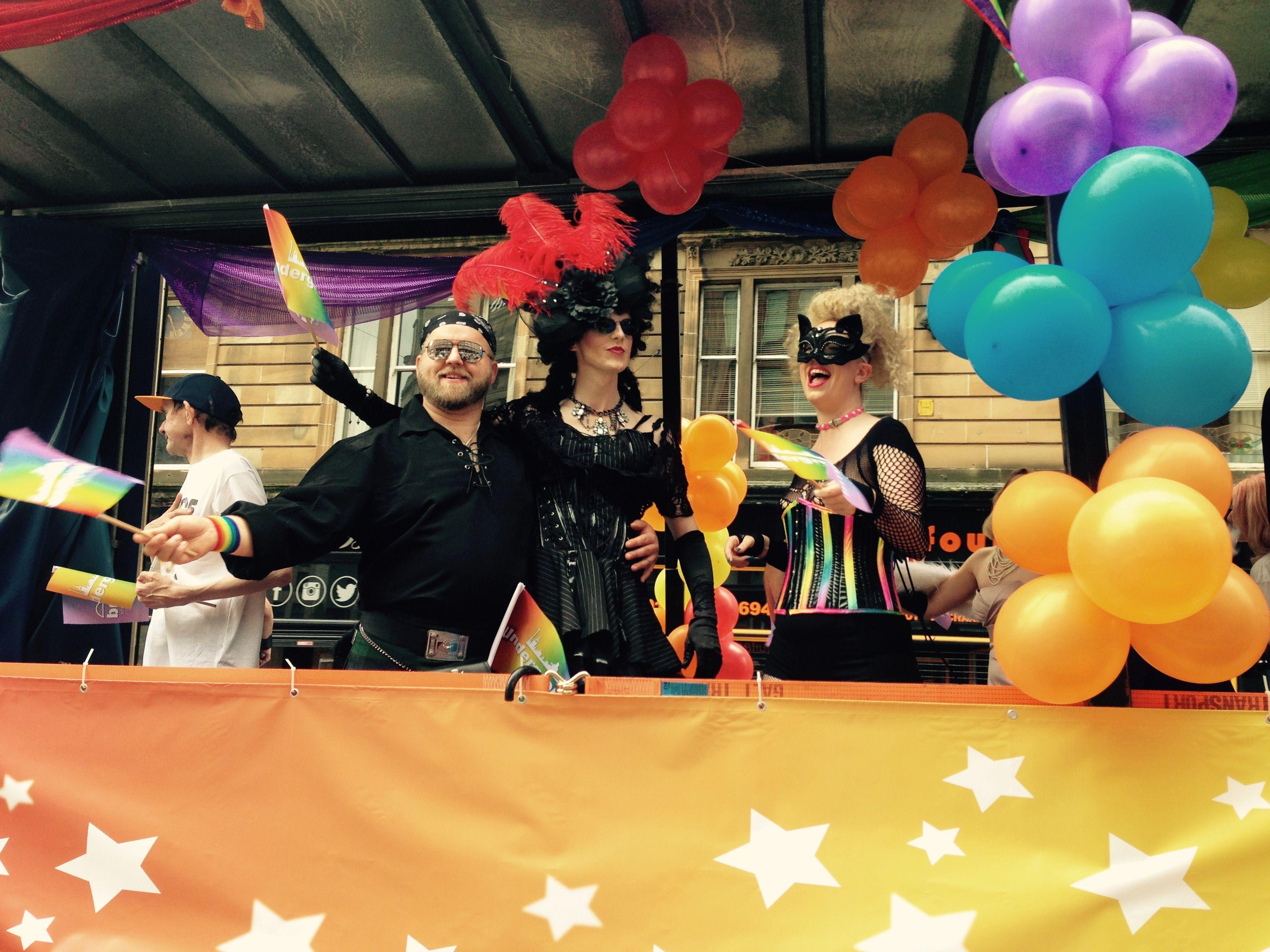 Gay Pride Glasgow.
