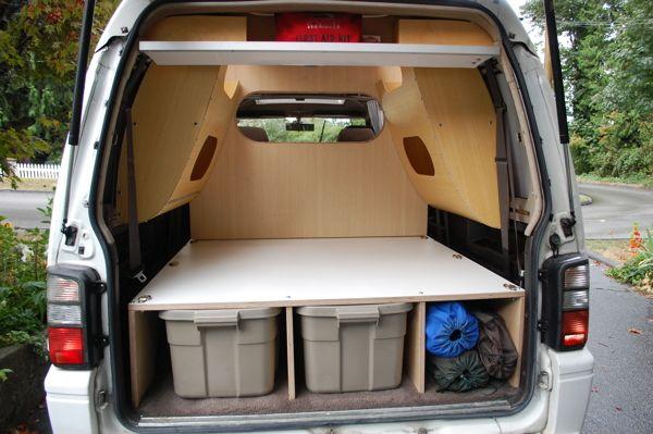 Delica L300 Utility Wagon On Behance Utility Wagon Delica Van Toyota Camper