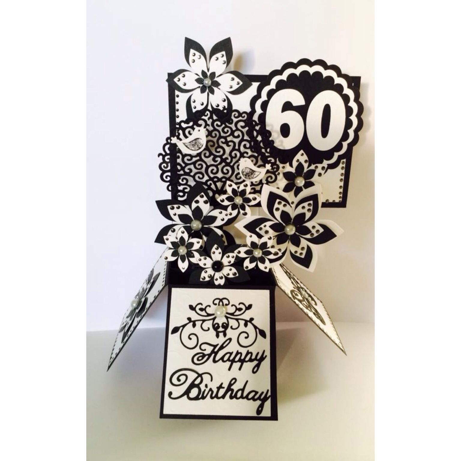 60th Birthday Card In A Box