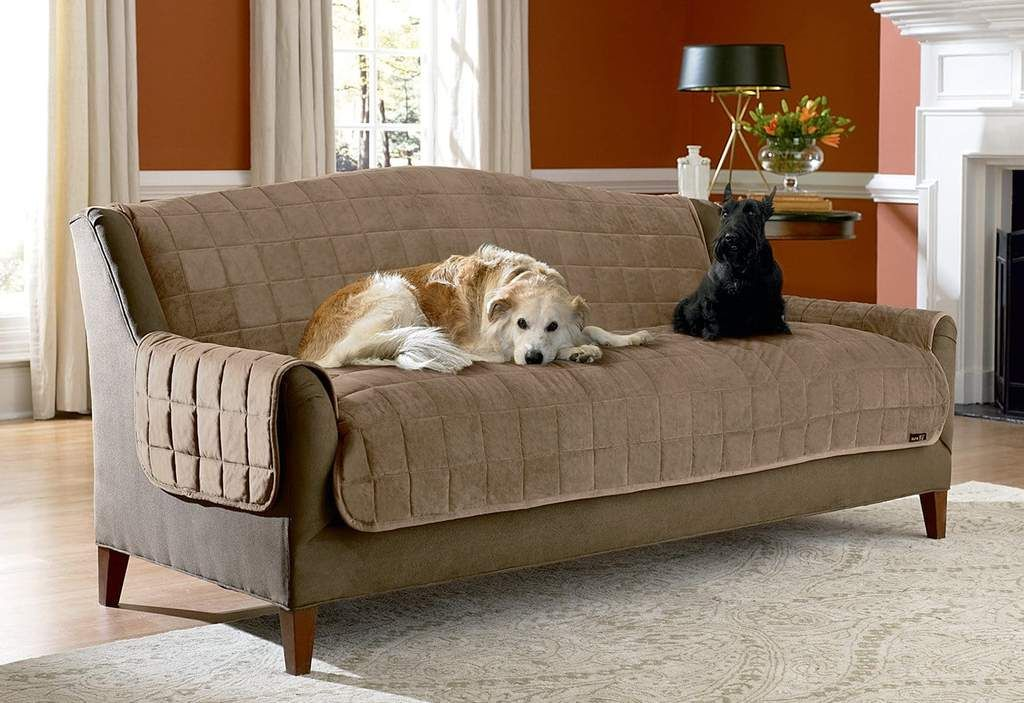Deluxe Comfort Sofa Furniture Cover With Arms Microban
