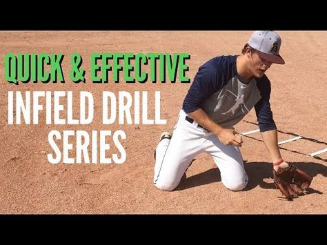 Photo of Quick & Effective Baseball Infield Drill Series