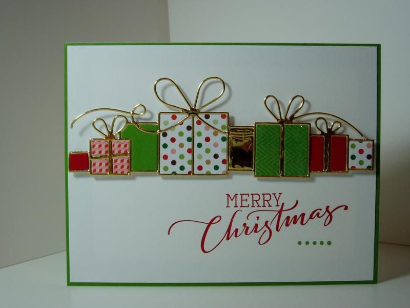 Merry Christmas Gifts by Ink-Creatable WOH - Cards and Paper Crafts at Splitcoaststampers