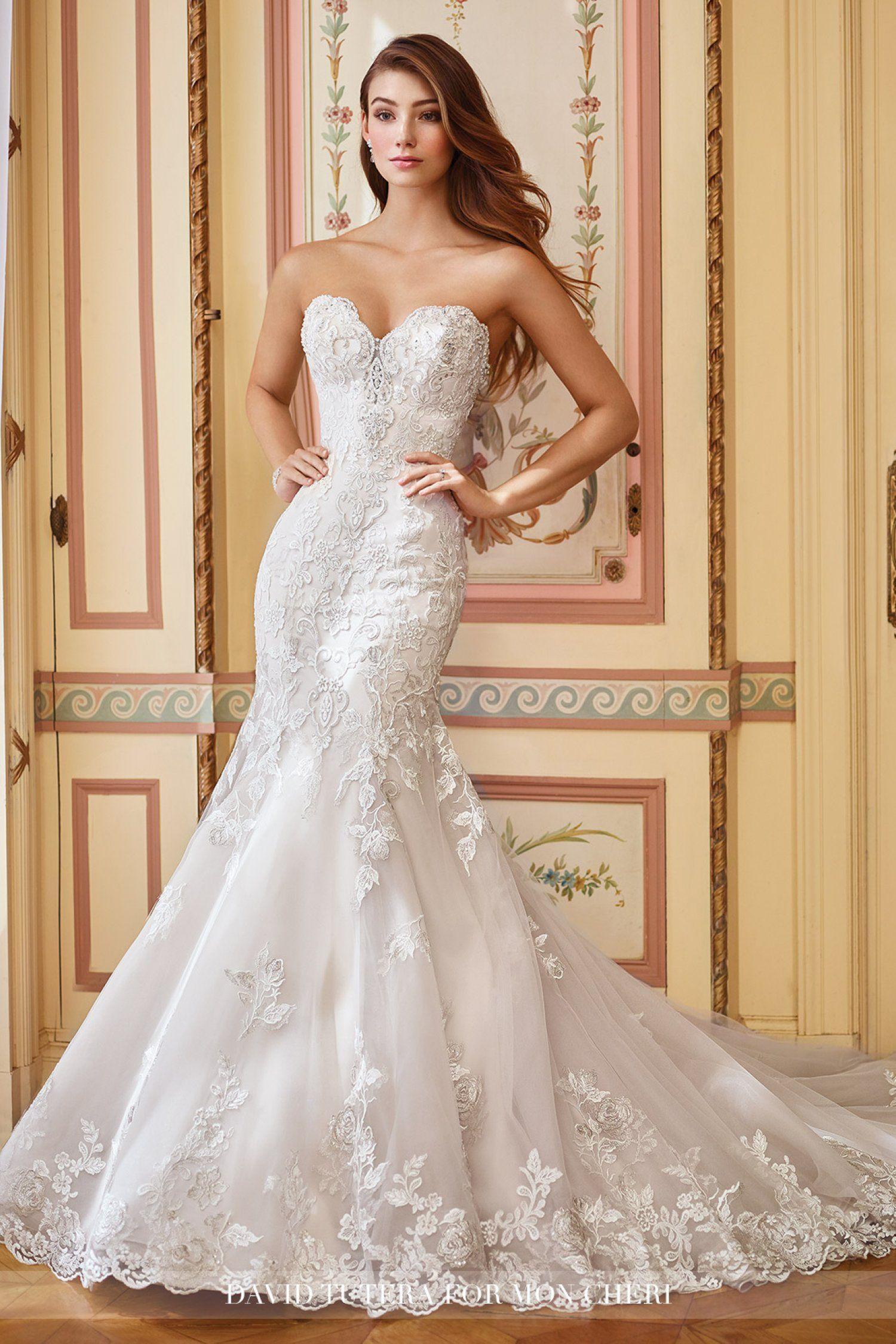 David wedding dress  David Tutera for Mon Cheri   Danae  Wedding dresses