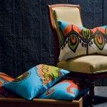 Coptic Rectangular Inverted Garden Throw Pillow