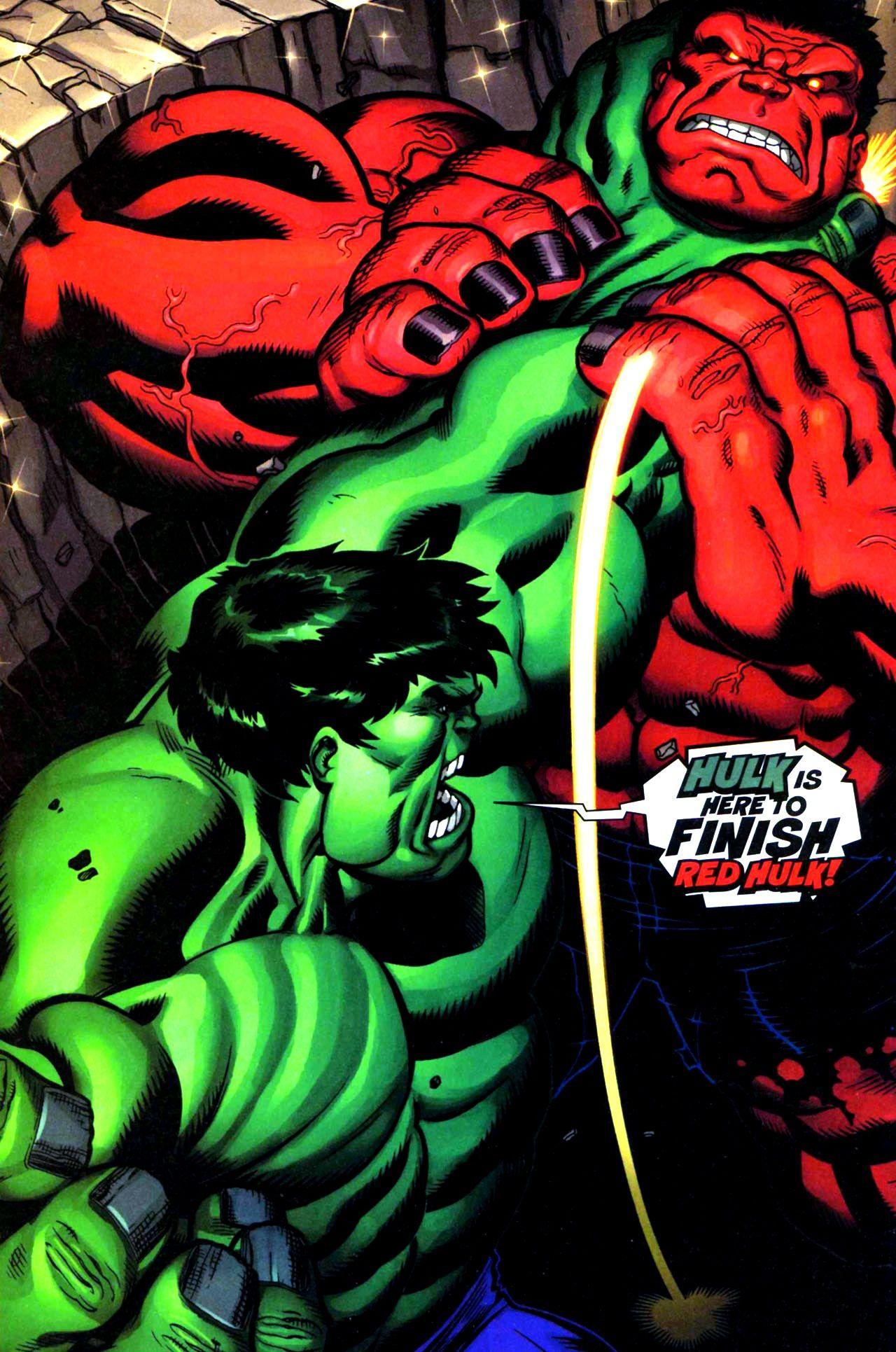 Hulk vs red hulk by ed mcguinness hulk co hulk red - Pictures of red hulk ...