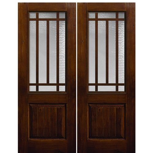 Glasscraft 10 Lite Ka Craftsman 2 3 Sdl 2 Fiberglass Exterior Door Design Wood Craftsman Front Doors French Doors Exterior