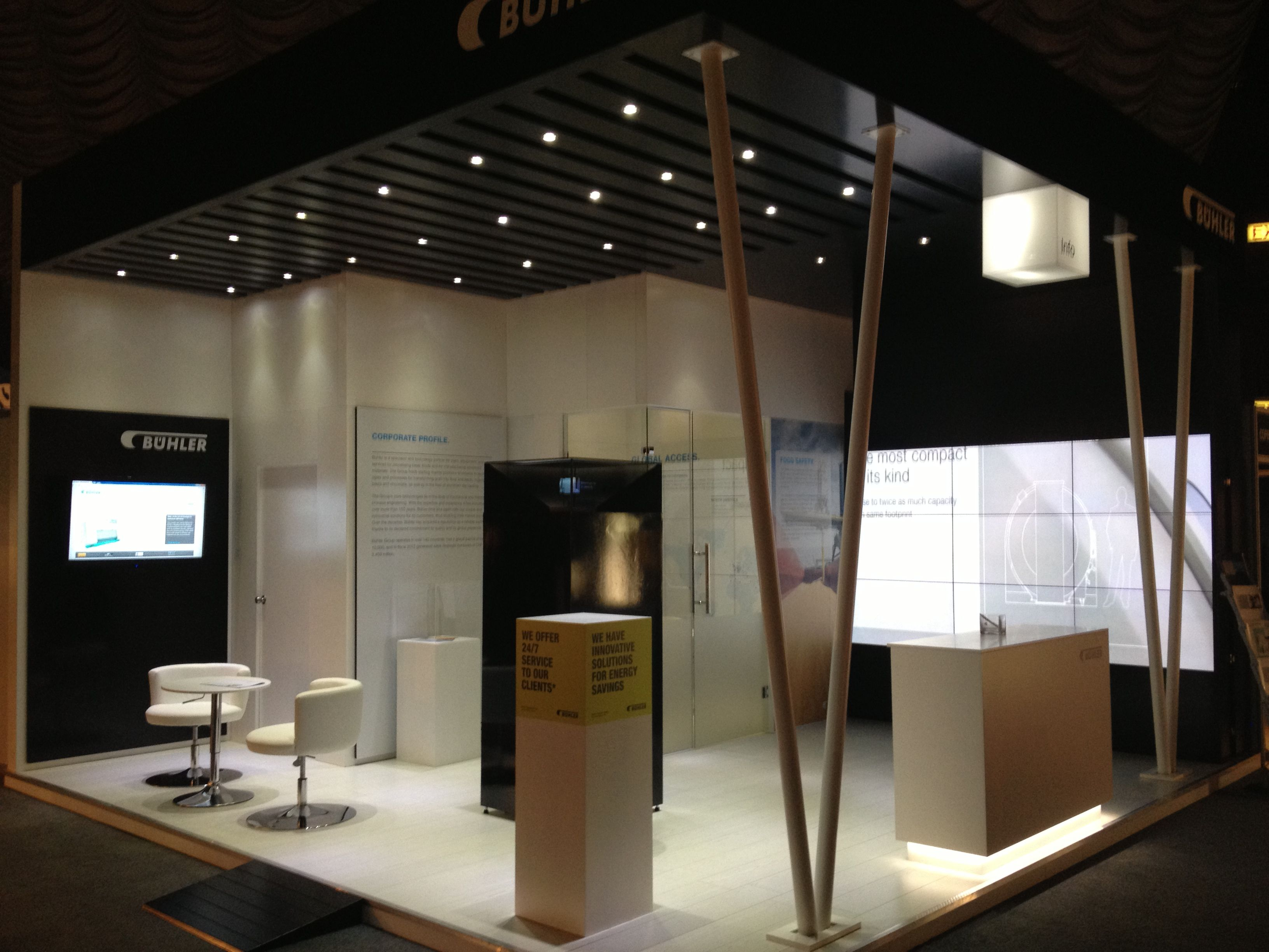 Exhibition Stand Installation : Installation of exhibition stand for buhler sun city