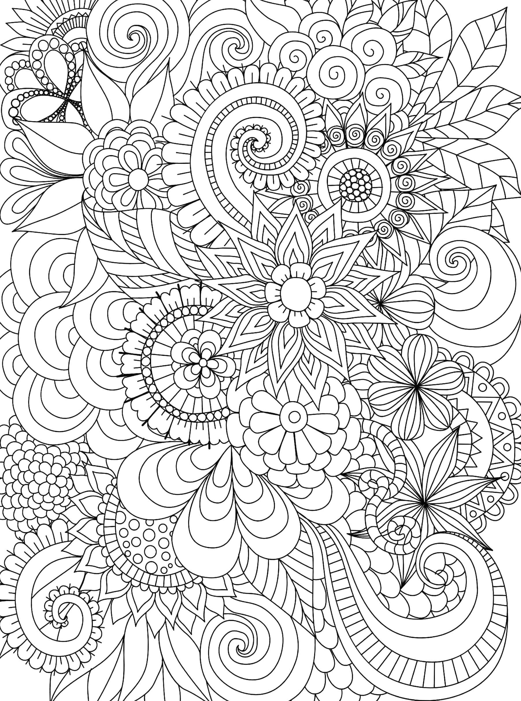 Large Mandala Coloring Pages Page Coloring Advanceddala Coloring Pages Free Printable Wendyleebest In 2020 Coloring Pages Color Tapestry