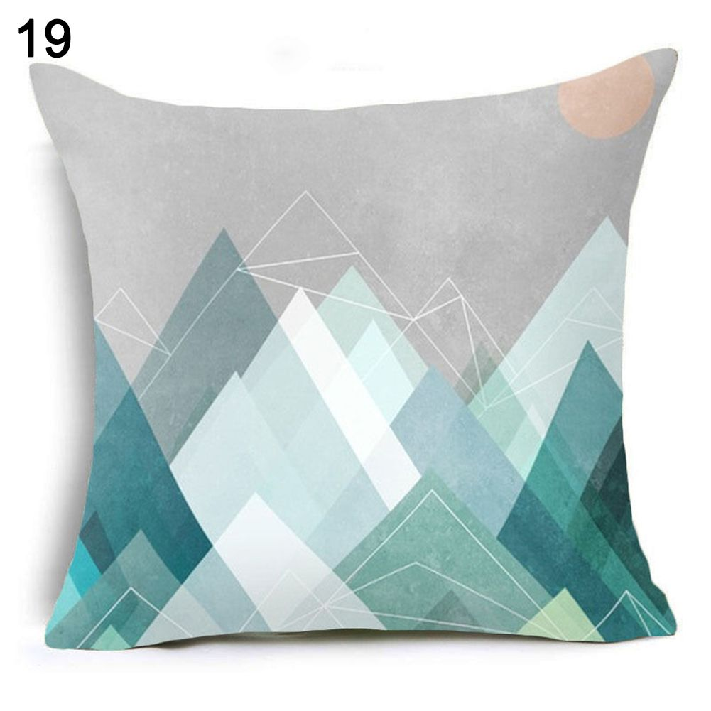 Luxury Geometry Rectangle Cushion Cover Pillow Case Pillowcase Home Multicolor