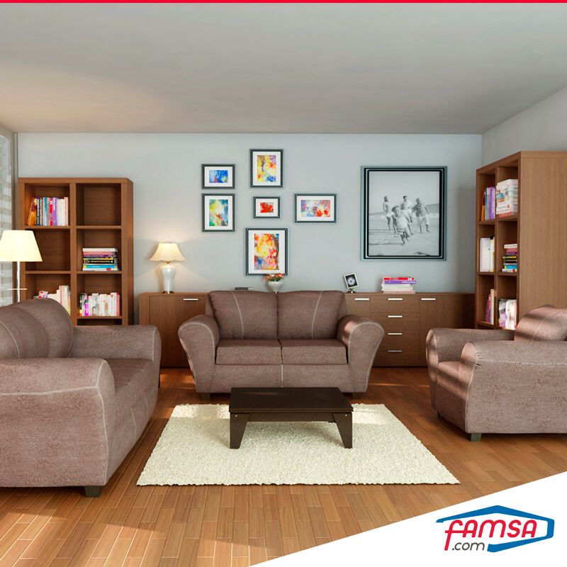 Awesome Living Room Featuring Famsa Furniture Our Partners