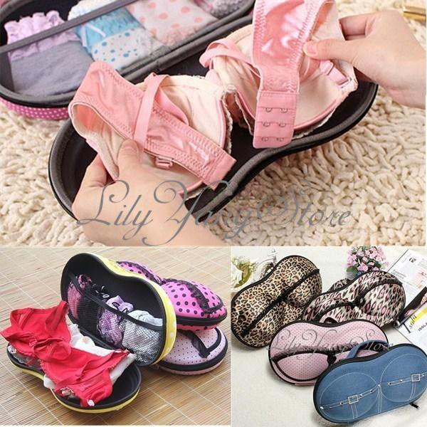 Superb Portable Protect Bra Underwear Lingerie Lece Case Storage Travel Organizer  Bag