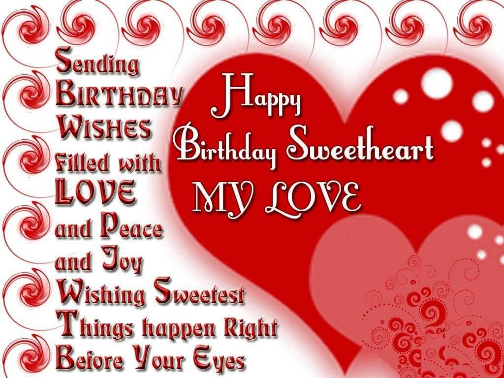 Cute Birthday Wishes for Lover Happy Birthday Cards – Cute Birthday Greeting Cards