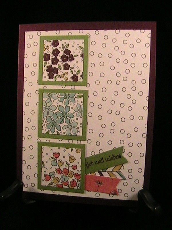 WT575 - Threes - Stamp Class 4/16 by susie nelson - Cards and Paper Crafts at Splitcoaststampers
