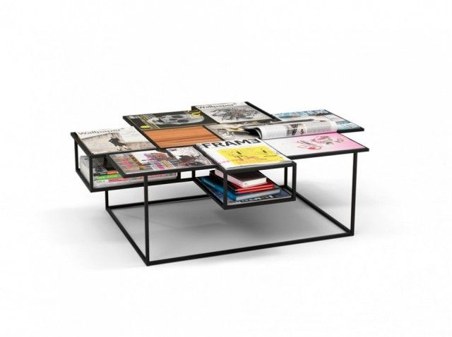 Love this Roderick Vos Design. His new table 'Manhattan' is even cooler, but not pinnable yet :-(