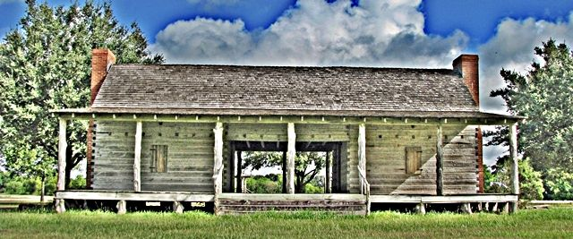 Texas Style Dogtrot House With Images House House Plans