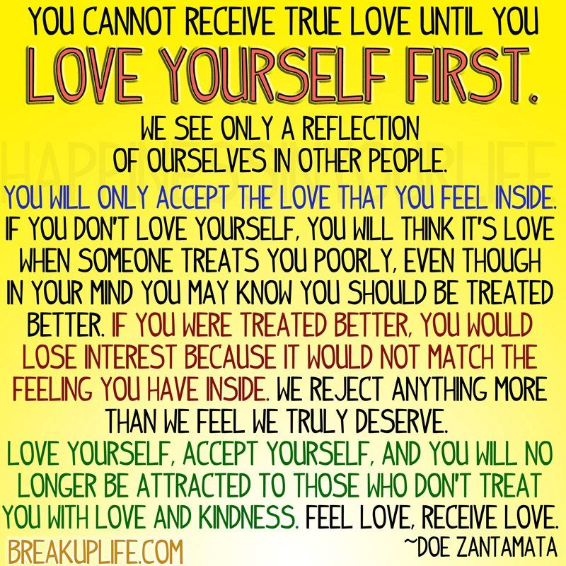 Quotes About Love Yourself First : Love yourself first Quotes, Sayings, Snippets & More... Pinterest