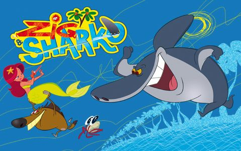 Zig And Sharko One Of The Coolest Animated Kids Shows Ever Made