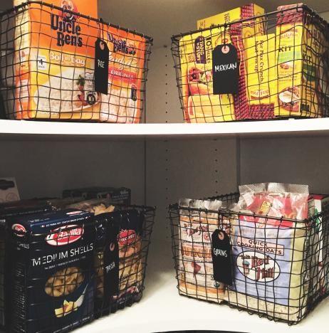 Baskets, Organizing, Neat Method, Professional Organizers, Home Organizing, Wire  Baskets,