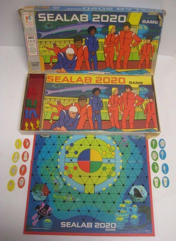 Best New Board Games 2020 Vintage 1973 SEALAB 2020 Board Game Milton Bradley 100% COMPLETE w
