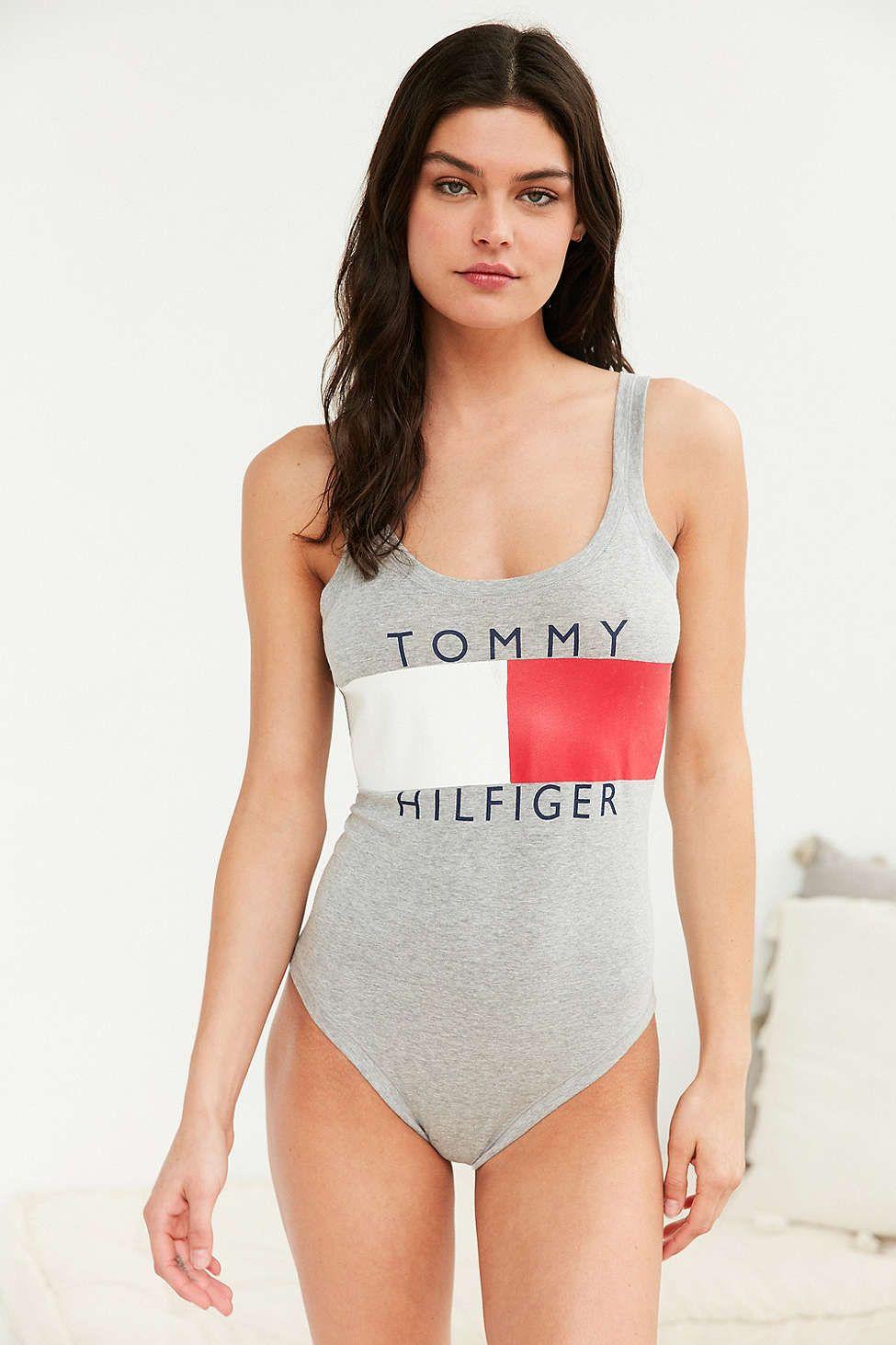 17a029ce Tommy Hilfiger X UO Graphic Bodysuit | Tommy Tommy | Tommy hilfiger ...