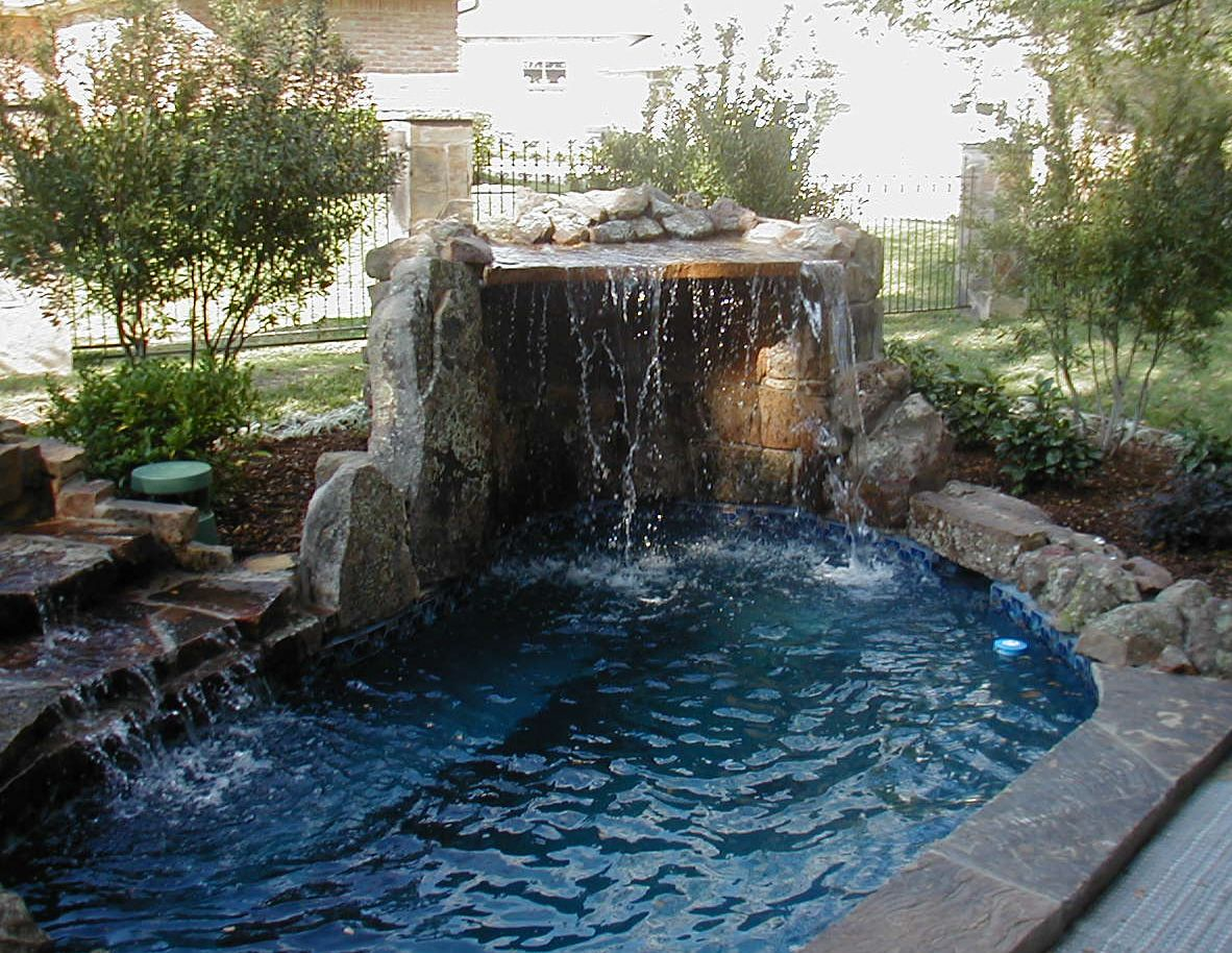 Hot Tubs Built In Waterfall Welcome To Wayray The Ultimate
