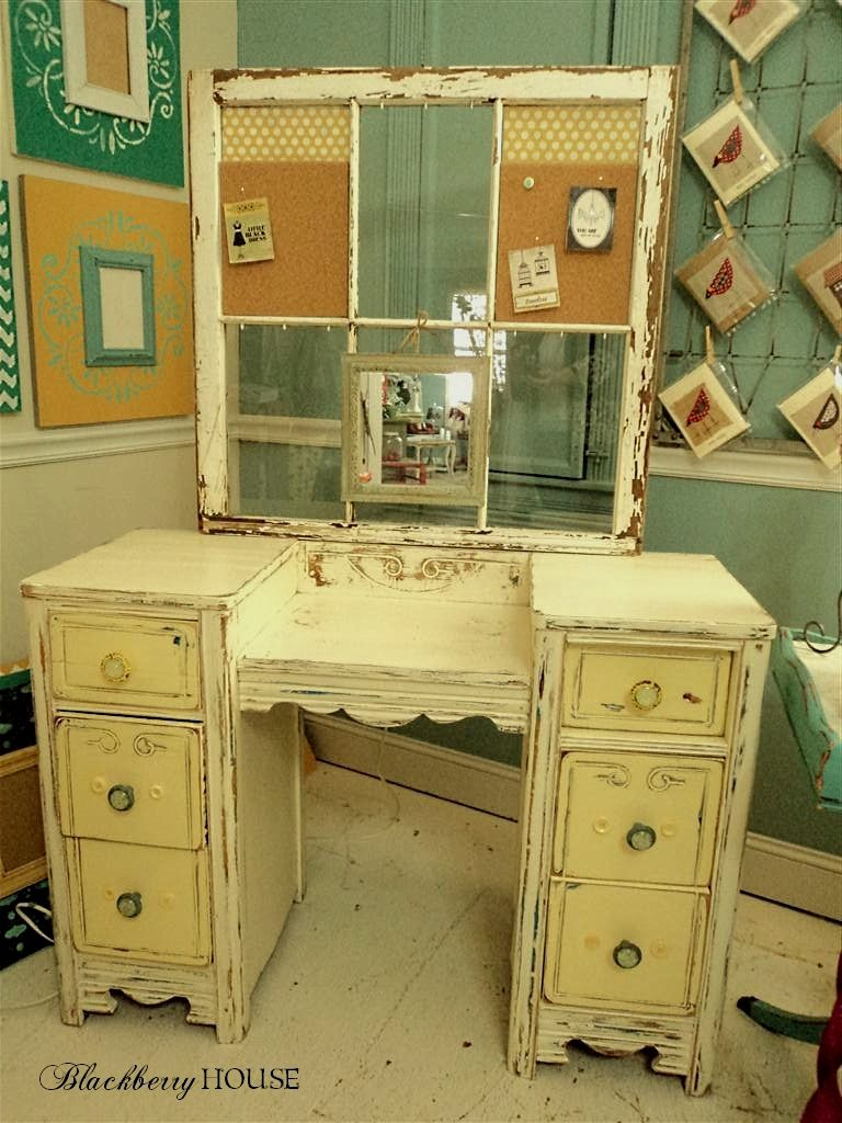 Blackberry House Blog Formerly Make Mine Beautiful: A Major Vanity Makeover    Chalk Paint Project